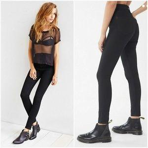 UO BDG Twig Super High Rise Black Jeans
